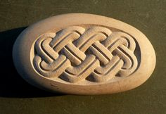 Pebble carving
