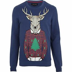 Reindeer Sweater! | Men's Fashion | Pinterest | Reindeer sweater