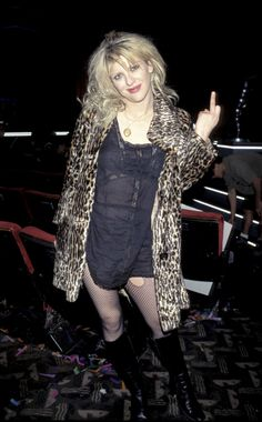 Anton on the brink of collapse behaves much like the public's image of Courtney Love