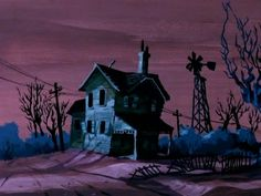 Scooby-Doo background painting
