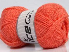 Fiber Content 60% Virgin Wool 40% Acrylic Salmon Brand Ice Yarns fnt2-43539