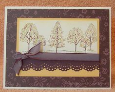 SC181 - Stampin' Up: Lovely as A Tree (2008)
