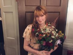 Florence at her birthday party