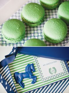 Preppy Polo Party {First Birthday & Christening} with Horse shaped crayons!