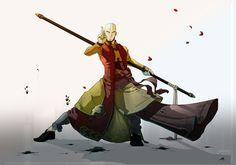 Aang by madasama on deviantART