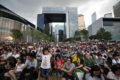 Thousands Protest Hong Kong's 'Brainwashing' Curriculum - China Real Time Report - WSJ