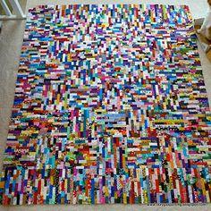 Legos quilt.