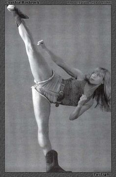 Cynthia Rothrock. Martial Artist: Tang Soo Do, Tae Kwon Do, Northern Shaolin, Wu Shu, Tiger Claw. Strenth and grace.