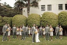 Bel Air Bay Club Wedding - enfianced. click through for more images.