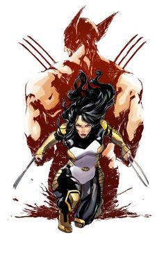 X-23 by Ariela Kristantina #XMen #XForce #Mutants