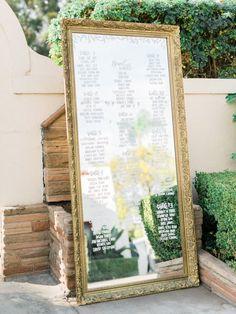 wedding reception seating idea; photo: Honey Honey Photography