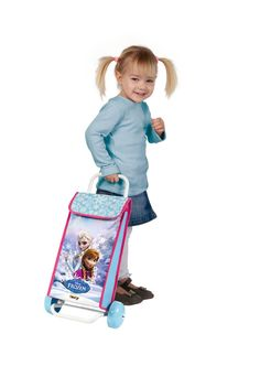 Frozen shopping trolley bag #frozen #disney #simbatoys #happy #kids #toys #trolley #bag