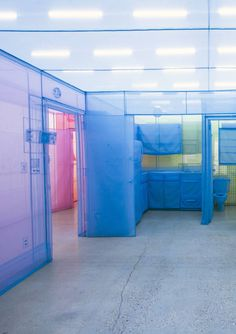 Do Ho Suh | 'Apartment A, Unit 2, Corridor and Staircase, 348 West 22Nd Street, New York, NY10011, USA' (Detail) | 2014 | polyester fabric
