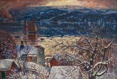 From Drøbaksundet - Karl Edvard Diriks