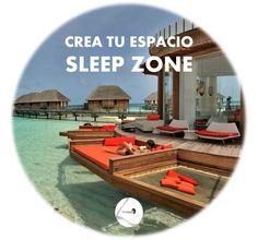 Comienza el primer fin de semana del verano de 2014, crea tu espacio, crea verano, cree en tí, ¡¡TODO es posible!! ¿y tú, nos enseñas tu SLEEP ZONE?