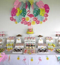 Resultado de imagen para cumpleaños de flamingos