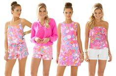 Lilly Pulitzer Styles in New Summer Print- Feeling Tanked