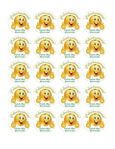 Stickers para premiar a los niños que sean muy reverentes en clase, solo imprime en papel autoadhesivo, corta y listo