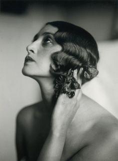 Portrait of Renée Perle by Jacques-Henri Lartigue, 1930