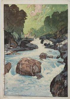 Japanese Woodblock Print, Yoshida  Hiroshi