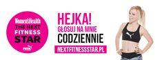 Finalistka Women's Health - Next Fitness Star - Marta Hennig 2 Ingredients, Pasta Salad, Food And Drink, Pudding, Drinks, Women's Health, Star, Recipes, Diet