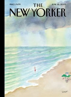 Jumping In | The New Yorker Covers