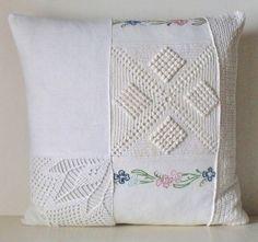French Vintage Whites Crochet