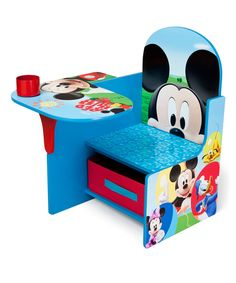 Look at this #zulilyfind! Mickey Mouse Desk Chair by Mickey Mouse & Minnie Mouse #zulilyfinds