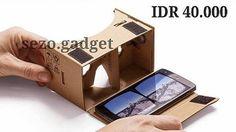 """An awesome Virtual Reality pic! Google Cardboard IDR 40.000  Dengan main-feature nya yaitu sebagai alat Virtual Reality Cardboard dapat merubah pandangan kita dan menipu otak kita seakan-akan kita berada diruangan atau tempat lain dengan penglihatan 3D.  Google Cardboard didukung oleh aplikasi yang dibuat oleh banyak orang dan terus bertambah. bisa di download appnya di play store search """"cardboard vr"""" atau nonton langsung di youtube search : """"yt3d"""" Maksimal 5.5""""  kelengkapan -lensa -magnet…"""