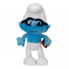 The Smurfs Plush Doll [Brainy]