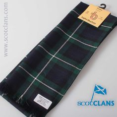 Forbes Modern Tartan Scarf. Free worldwide shipping available.
