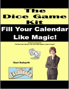 This Dice Game from Shari Hudspeth will fill your calendar