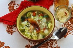 La #ricetta invernale ...e la variante estiva #minestrone #recipe #recipes #milano