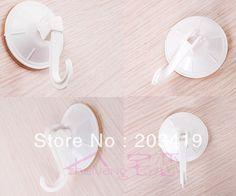 4pcs/pack 3KG  vacuum hooks sucker cups Suction Plastic holder sticker for Wall bathroom window car decor CN post $7.10