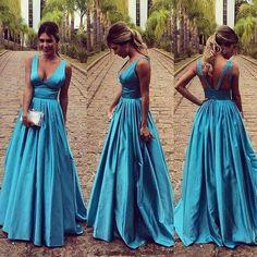 vestido de festa godê sem bordado. Vestido de festa saia estilo princesa