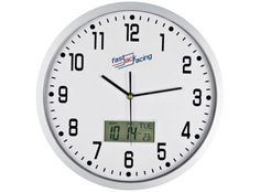 CrisMa Analogue wall clock Analogue wall clock with a digital day, date and temperature display. This item has a detachable plate for the easiest branding options! Corporate Outfits, Corporate Gifts, Corporate Branding, Wall Clock Analog, Wall Clocks, Metal Clock, Gadget Gifts, Watch Brands, Promotion