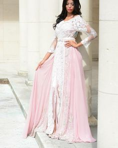"201 Likes, 15 Comments - Caftan Inspiration (@dailycaftan) on Instagram: ""Pink perfect #love #wedding #caftan #kaftan #takchita #takshita #classy #classic #fes #maroc…"""