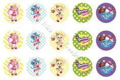 Freebies: Shopkins Shoppies bottlecap images