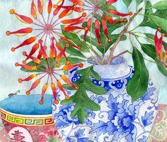 Gabby Malpas: firewheel flowers 2013