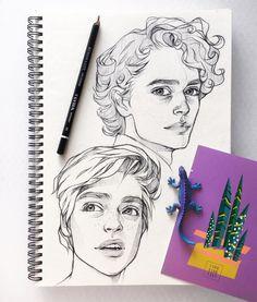акой из них вам нравится больше?) (Мне тот что снизу) . . . . . #рисунок #art #art🎨 #artist #artwork #artworks #pencil #pencilsketch