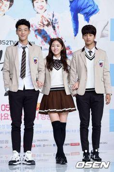 Sassy go go ` School Uniform Fashion, Japanese School Uniform, Korean Outfits, Kids Outfits, Casual Outfits, Sassy Go Go, Moe Manga, Seoul Fashion, Drama Korea