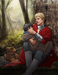 Fanart: Merlin Under A Spell - pennies_4_eyes - Merlin (TV) [Archive of Our Own]