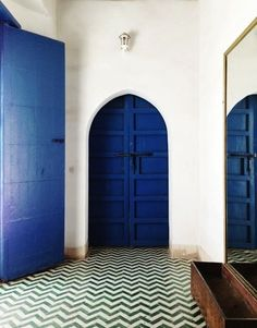 #Morocco inspired doors @Homepolish #Homepolish