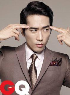 Song Seung Heon – GQ Korea Magazine