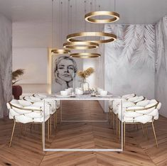 Every dining room needs an elegant and unique dining table. Get inspired and check out more dining table inspirations on insplosion.com