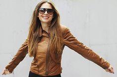 sunglasses from @MichaelKors Leather Jacket, Michael Kors, Sunglasses, Jackets, Jewelry, Fashion, Studded Leather Jacket, Down Jackets, Leather Jackets