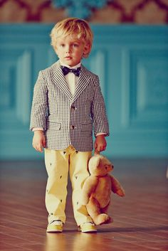 Love this preppy look for a toddler