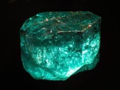 There are so-called 'explosive' emeralds, which can eventually break up into several parts due to internal stresses in the crystal.