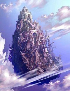 Floating castle