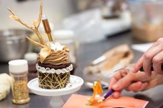 Created by Le Dolci bakery in Toronto, the extravagant cupcake is thought to be the world's most expensive.  $900.